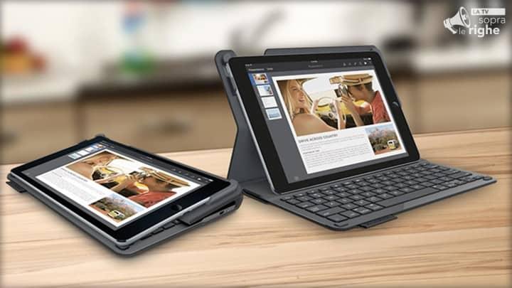 Recensione Tastiera per iPad Air 2 Logitech Type+