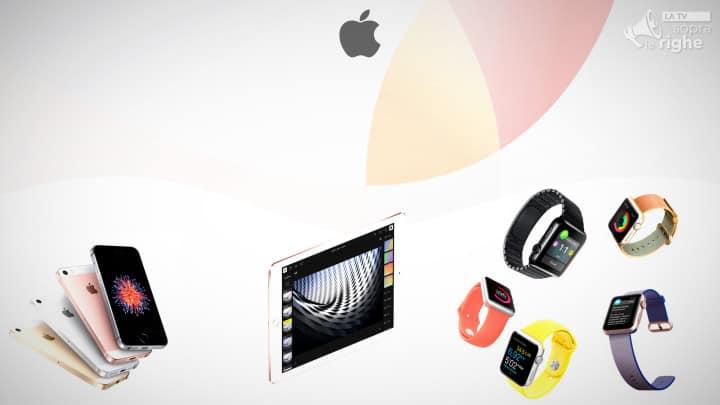 Keynote Marzo 2016 di Apple - Featured - sopralerighe.it